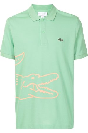 Lacoste Men Polo Shirts - Logo-print short-sleeved polo shirt