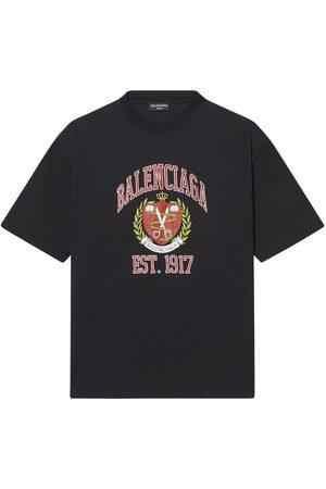 Balenciaga College Cotton T-shirt