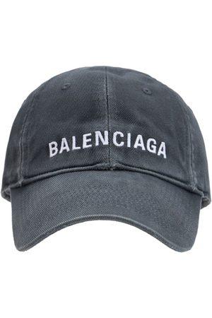 Balenciaga Logo Cotton Cap