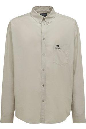 Balenciaga Large Fit Cotton Shirt