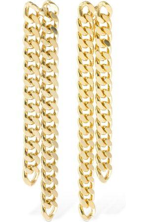 ROSANTICA Amy Double Chain Earrings