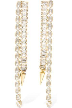 ROSANTICA Women Earrings - Scorpio Crystal Fringe Earrings