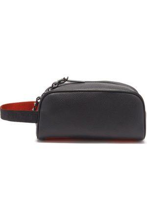 Christian Louboutin Men Toiletry Bags - Blaster Leather Wash Bag - Mens