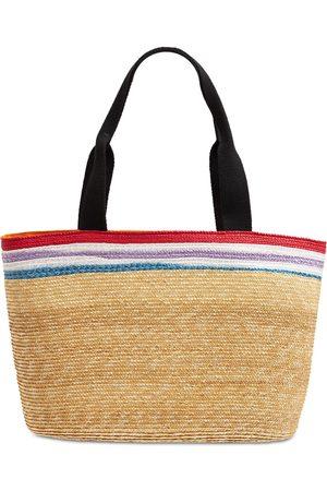 MISSONI Women Tote Bags - Striped Viscose Shopping Bag
