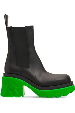 Bottega Veneta Women Chelsea Boots - 95mm Flash Leather Chelsea Boots