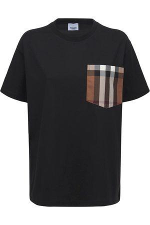 Burberry Women T-shirts - Cotton T-shirt