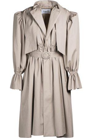 Balenciaga Stretch Cotton Gabardine Trench Dress