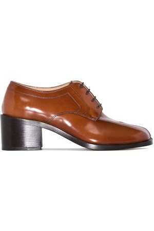Maison Margiela Women Formal Shoes - Tabi-toe lace-up shoes