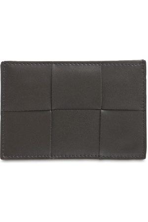 BOTTEGA VENETA Maxi Intreccio Urban Leather Card Holder