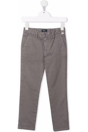 Il gufo Slim-cut trousers - Grey