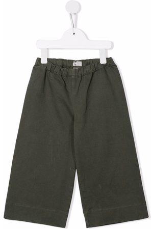 Il gufo Girls Wide Leg Pants - Abete wide leg trousers
