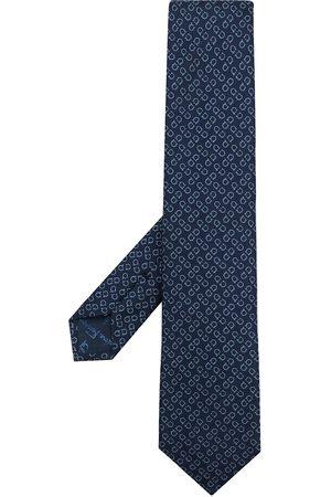 Salvatore Ferragamo Gancini-pattern tie