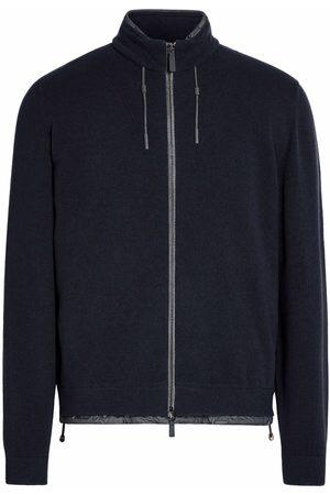 Ermenegildo Zegna Zip-fastening cashmere sweater