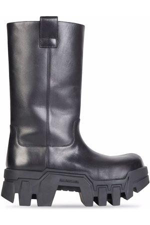 Balenciaga Men Flat Shoes - Bulldozer slip-on boots