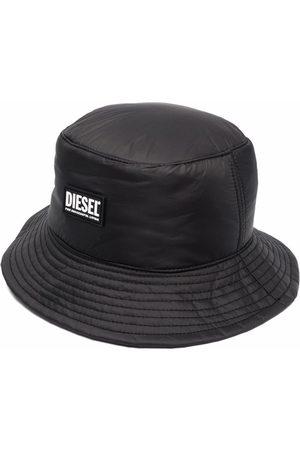 Diesel Men Hats - Logo-patch bucket hat