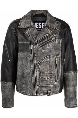 Diesel Deconstructed biker jacket