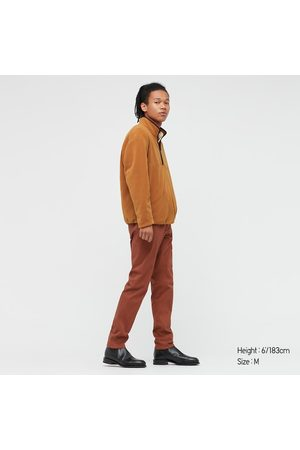 UNIQLO Men Long sleeves - Men's Fleece Long-Sleeve Half-Zip Pullover, , S
