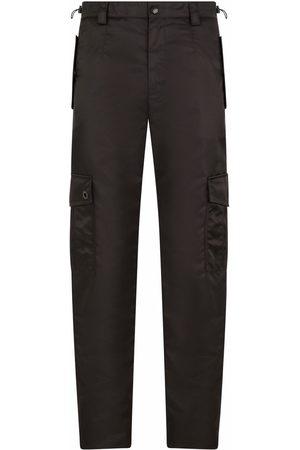 Dolce & Gabbana Men Straight Leg Pants - Straight leg utility trousers