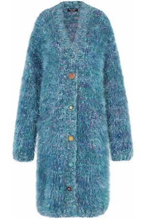 Dolce & Gabbana Women Cardigans - Textured-knit cardi-coat