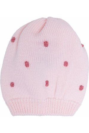 Little Bear Beanies - Ribbed dot knit beanie