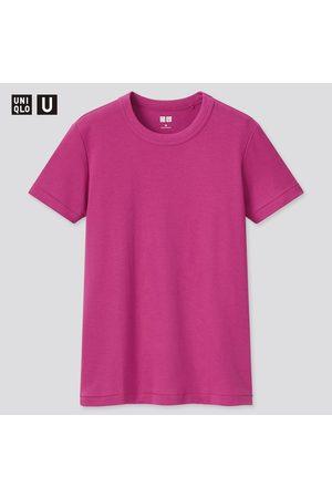 UNIQLO Women Short Sleeve - Women's U Crew Neck Short-Sleeve T-Shirt, , XXS