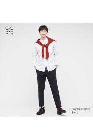 UNIQLO Men's Smart 2-Way Stretch Cotton Ankle-Length Pants, , XS