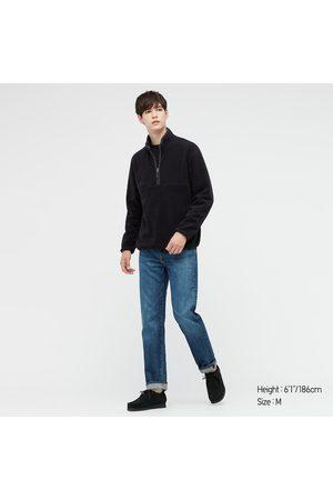 UNIQLO Men's Fleece Long-Sleeve Half-Zip Pullover, , XXS