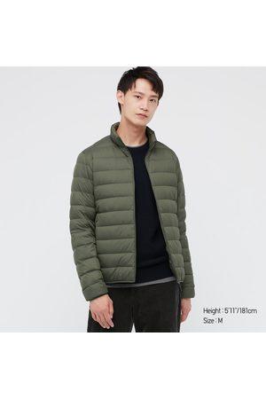 UNIQLO Men Puffer Jackets - Men's Ultra Light Down Puffer Jacket, Green, XXS