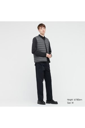 UNIQLO Men Gilets - Men's Ultra Light Down Puffer Compact Vest, Gray, XXS