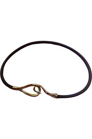Hermès Jumbo leather necklace