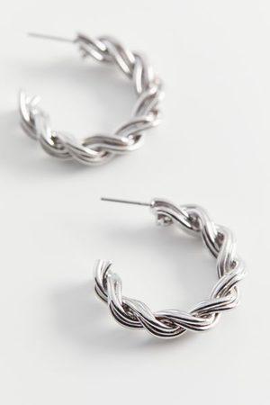 Urban Outfitters Braided Hoop Earring