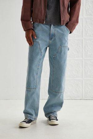 BDG Men Jeans - Skate Fit Double Knee Jean - Bluebell Wash