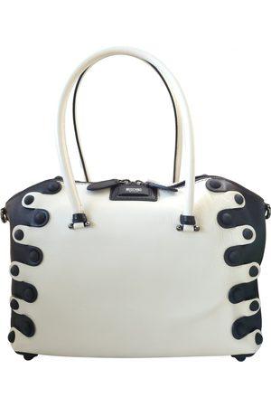 Moschino Women Bowling Bags - Leather bowling bag