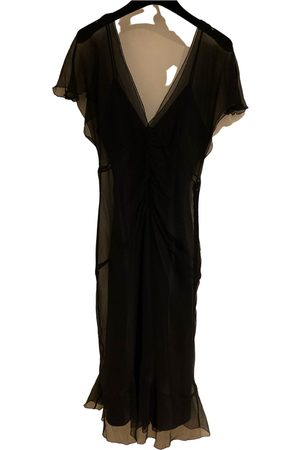 Laundry by Shelli Segal Silk mid-length dress