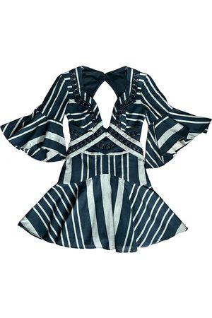 Acler Linen mini dress