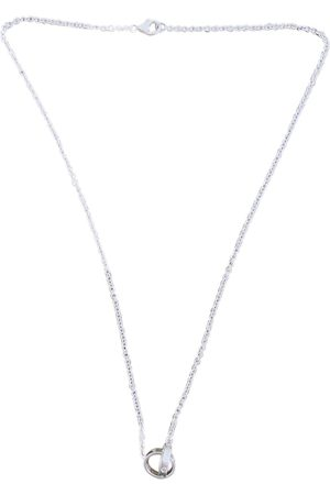 Cartier Love white gold necklace