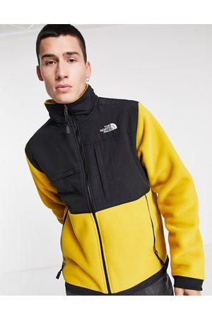 The North Face Denali 2 fleece jacket in mustard