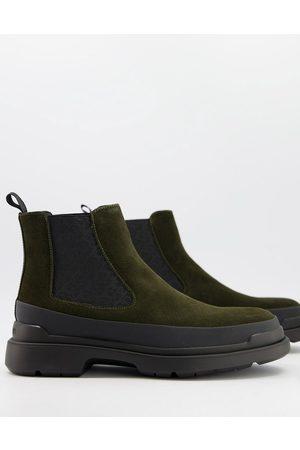 Calvin Klein Men Chelsea Boots - Shelton chunky chelsea boots in