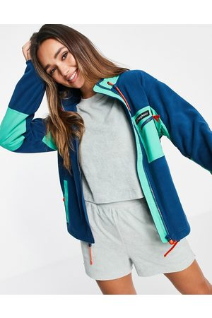 Berghaus Women Fleece Jackets - Ascent 91 fleece jacket in blue-Blues
