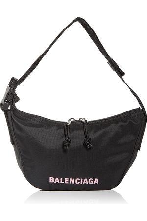 Balenciaga Women Purses - Wheel Recycled Sport Nylon Shoulder Bag