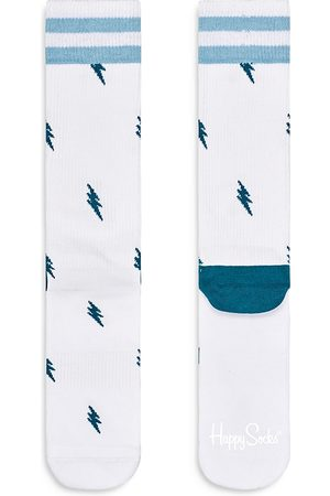 Happy Socks Lightning Bolt Crew Socks