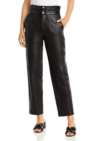 Iro Futari High Waist Leather Pants