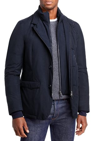 HERNO Gore-Tex Blazer Jacket with Removable Wind Guard