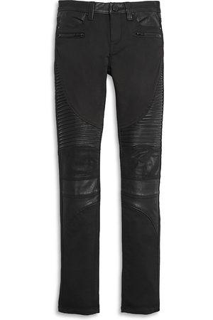 BLANK NYC Girls' Skinny Moto Jeans - Big Kid