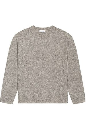 JOHN ELLIOTT Wool Powder Knit Crew in Grey