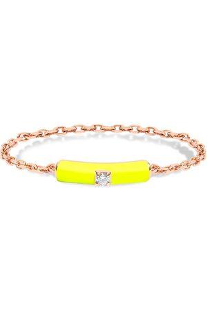 DJULA Yellow enamel chain ring