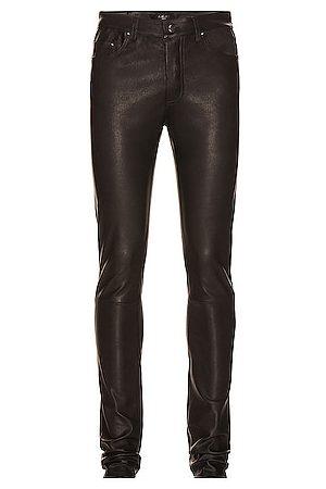 AMIRI 5 Pocket Leather Pant in