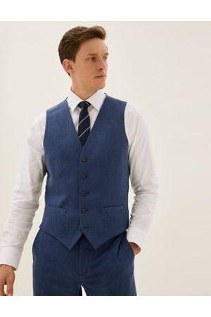 Marks & Spencer Navy Waistcoat, Navy