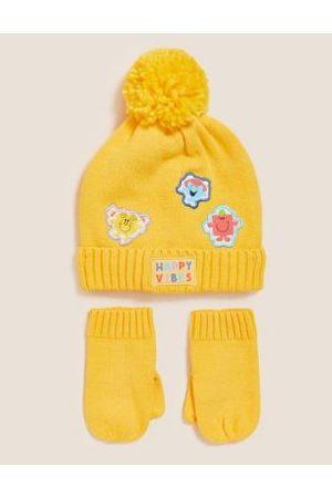 Kids' Mr Men™ Hat and Mitten Set (12 Mths