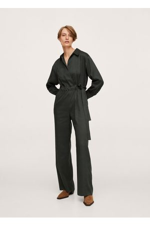 MANGO Long lyocell jumpsuit